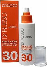 Парфюмерия и Козметика Хидратиращ слънцезащитен спрей - Dr. Russo Once A Day SPF30 Sun Protective Invisible Mist
