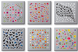 Парфюми, Парфюмерия, козметика Комплект лепенки за нокти 42751 - Top Choice Nail Decorations Stickers Set