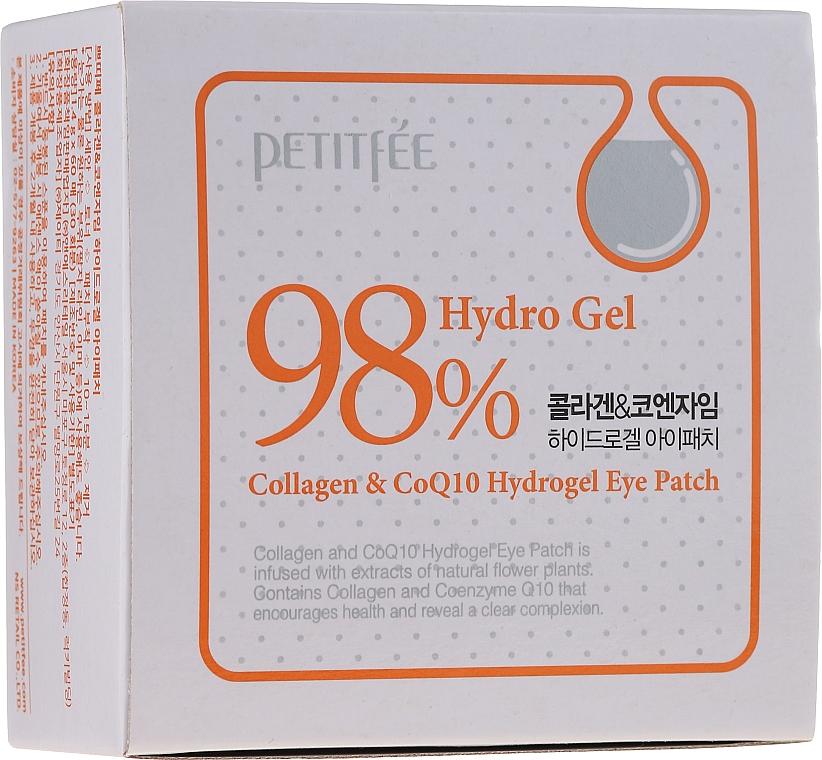 Хидрогел пачове за очи с колаген и коензим - Petitfee & Koelf Collagen & Co Q10 Hydrogel Eye Patch