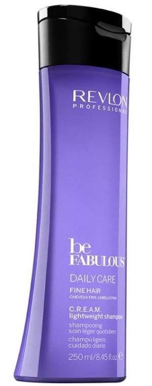 Почистващ шампоан за обемна коса - Revlon Professional Be Fabulous Daily Care Fine Hair Lightweight Shampoo