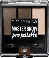 Парфюми, Парфюмерия, козметика Палитра сенки за вежди - Maybelline Master Brow Pro Palette Kit