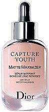 Парфюми, Парфюмерия, козметика Серум за лице с матиращ ефект - Christian Dior Capture Youth Matte Maximizer Age-Delay Mattifying Serum (тестер)