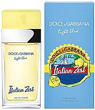 Парфюми, Парфюмерия, козметика Dolce & Gabbana Light Blue Italian Zest Pour Femme - Тоалетна вода