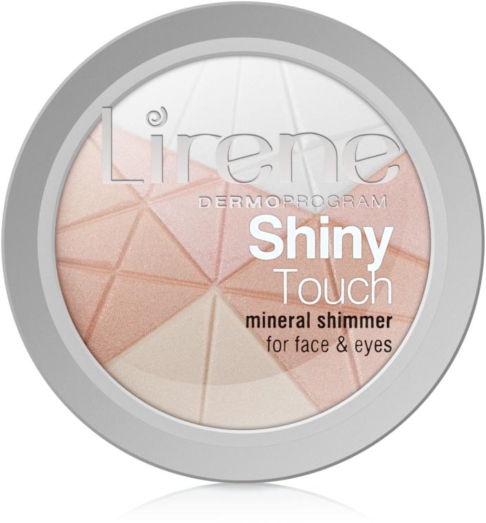 Минерален хайлайтър за лице - Lirene Shiny Touch Mineral Shimmer — снимка N2