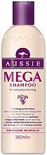 Парфюмерия и Козметика Шампоан за ежедневна употреба - Aussie Mega Shampoo