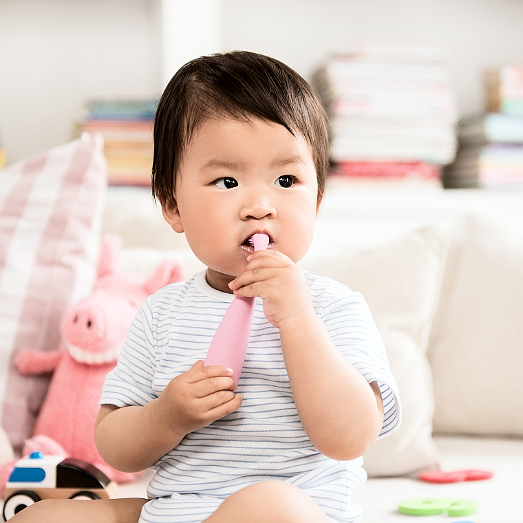 Електрическа детска четка за зъби - Foreo Issa Mikro Pearl Pink — снимка N4