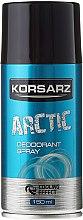 Парфюми, Парфюмерия, козметика Дезодорант спрей - Pharma CF Korsarz Arctic Deodorant