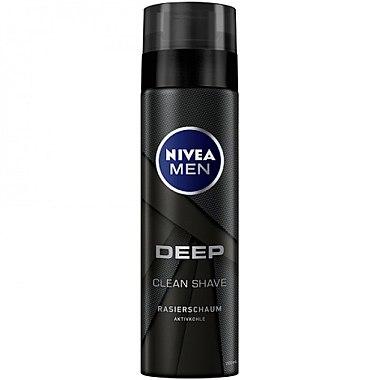Пяна за бръснене - Nivea For Men Deep Shaving Foam — снимка N1