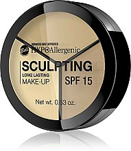 Парфюмерия и Козметика Хипоалергенни контури за лице - Bell HypoAllergenic Long Lasting Sculpting Make-Up