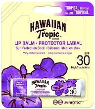 Парфюмерия и Козметика Слънцезащитен балсам за устни - Hawaiian Tropic Lip Balm SPF 30