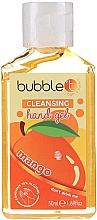"""Парфюмерия и Козметика Антибактериален гел за ръце """"Манго"""" - Bubble T Cleansing Hand Gel"""