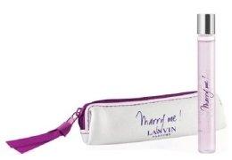 Парфюми, Парфюмерия, козметика Lanvin Marry Me - Комплект (edp/7.5ml + mini чанта)