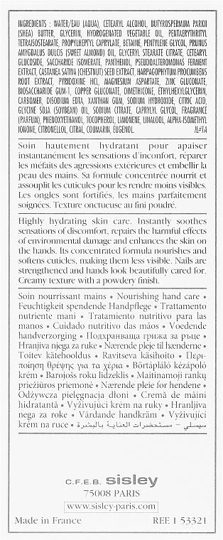 Крем за ръце - Sisley Paris Restorative Hand Cream — снимка N3