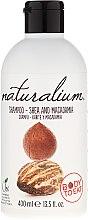 Парфюмерия и Козметика Шампоан за коса с ший и макадамия - Naturalium Shea & Macadamia Shampoo