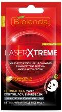 Парфюми, Парфюмерия, козметика Повдигаща маска, коригираща бръчки, в хидропластична кърпичка 3D за лице - Bielenda Laser Xtreme Lifting Mask