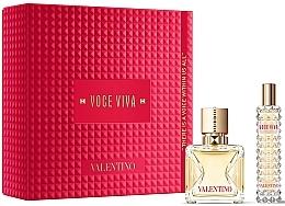 Парфюмерия и Козметика Valentino Voce Viva - Комплект (edp/50 ml + edp/mini/15 ml)