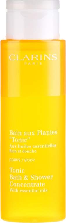 Пяна за вана - Clarins Tonic Bath & Shower Concentrate — снимка N2