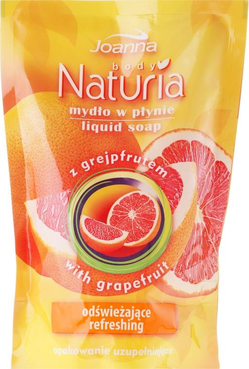 "Течен сапун ""Грейпфрут"" - Joanna Naturia Body Grapefruit Liquid Soap (Refill)"