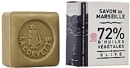 Парфюми, Парфюмерия, козметика Сапун с маслина в кутия, правоъгълен - La Corvette Savon de Marseille Olive
