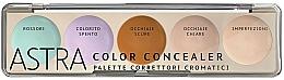 Парфюмерия и Козметика Палитра коректори за лице - Astra Make-Up Color Concealer Camouflage