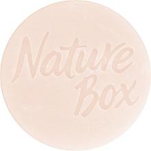Парфюмерия и Козметика Твърд шампоан за коса с бадемово масло - Nature Box Shampoo Bar Almond Oil