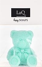 """Парфюмерия и Козметика Ръчно изработен натурален сапун """"Мече"""" с аромат на киви - LaQ Happy Soaps Natural Soap"""