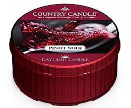 Парфюмерия и Козметика Чаена свещ - Country Candle Pinot Noir