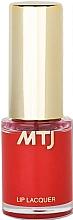 Парфюмерия и Козметика Гланц-лак за устни - MTJ Cosmetics Liquid Lip Lacquer Effect 6H