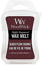 Парфюми, Парфюмерия, козметика Ароматен восък - WoodWick Wax Melt Black Plum Cognac