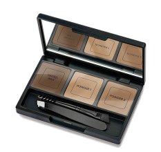 Парфюмерия и Козметика Комплект за оформяне на вежди - Golden Rose Eyebrow Styling Kit