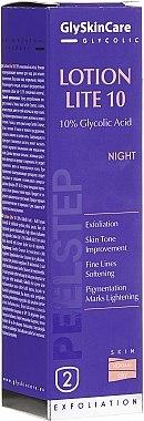 Нощна емулсия-пилинг 10% гликолова киселина - GlySkinCare Lotion Lite 10