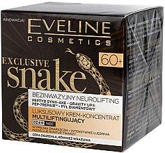 Парфюми, Парфюмерия, козметика Крем за лице с екстракт от змия - Eveline Cosmetics Exclusive Snake 60+