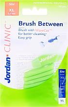 Парфюмерия и Козметика Интердентални четки, 0.8мм, XL, 10бр - Jordan Interdental Brush Clinic Brush Between