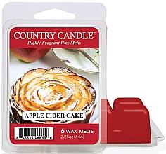 Парфюмерия и Козметика Восък за арома лампа с аромат на ябълков кейк - Country Candle Apple Cider Cake Wax Melts