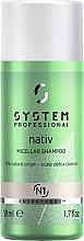 Парфюмерия и Козметика Мицеларен шампоан за коса - System Professional Nativ Micellar Shampoo N1