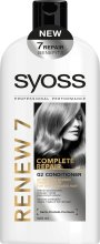 Парфюми, Парфюмерия, козметика Балсам за изтощена коса - Syoss Renew 7 Complete Repair Conditioner