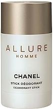 Парфюмерия и Козметика Chanel Allure Homme - Стик дезодорант