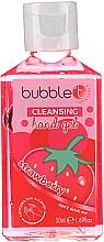 """Парфюмерия и Козметика Антибактериален гел за ръце """"Ягода"""" - Bubble T Cleansing Hand Gel Strawberry"""