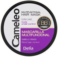"""Парфюми, Парфюмерия, козметика Маска за коса """"Къдрици под контрол"""" - Delia Cameleo Mask"""