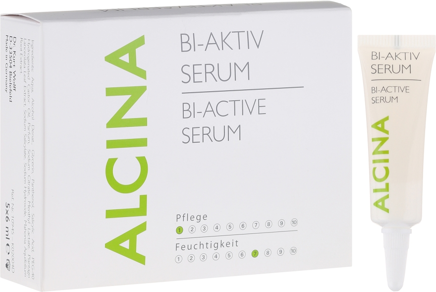 Биоактивен серум за скалпа - Alcina Hair Care Bi Aktiv Serum — снимка N1