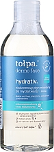 Парфюмерия и Козметика Мицеларен почистващ лосион за лице - Tolpa Dermo Face Hydrativ Face And Eye Micellar Fluid