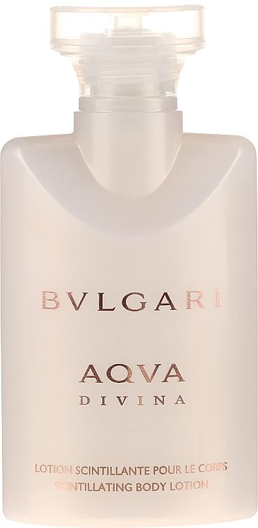 Bvlgari Aqva Divina - Комплект (тоал. вода/40ml + лосион за тяло/40ml + душ гел/40ml) — снимка N3