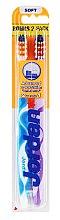 Парфюмерия и Козметика Комплект четка за зъби - Jordan Advanced Soft Toothbrush