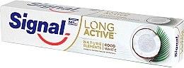 Парфюми, Парфюмерия, козметика Избелваща паста за зъби - Signal Long Active Nature Elements Coco White