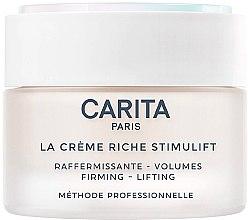 Парфюмерия и Козметика Лифтинг крем за лице - Carita La Creme Riche Stimulift