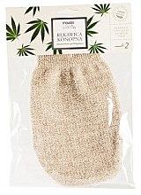 Парфюми, Парфюмерия, козметика Ръкавица за душ от лен и коноп - Mohani Bath Glove