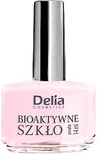 """Парфюми, Парфюмерия, козметика Лак за нокти 2 в 1 """"Биоактивно стъкло"""" - Delia Cosmetics Bioactive Glass Nail Polish"""