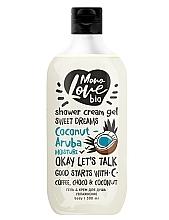 Парфюмерия и Козметика Овлажняващ душ крем - MonoLove Bio Coconut-Aruba Moisture