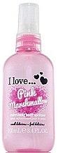 Парфюмерия и Козметика Освежаващ спрей за тяло с аромат на розов маршмелоу - I Love... Pink Marshmallow Refreshing Body Spritzer