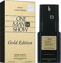 Bogart One Man Show Gold Edition - Тоалетна вода — снимка N2